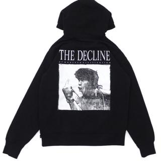 シュプリーム(Supreme)のSupreme Decline Hooded Sweatshirt 黒 M(パーカー)