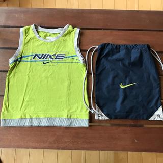 ナイキ(NIKE)のNIKE タンクトップとナップサック 90センチ(Tシャツ/カットソー)