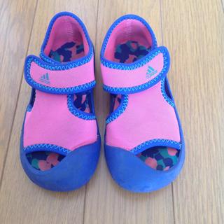 アディダス(adidas)のadidas 子供靴 サンダル 15cm(サンダル)