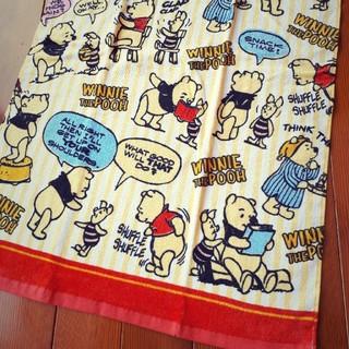 くまのプーさん - 新品♥ディズニーくまのプーさんバスタオル