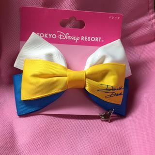 ディズニー(Disney)のドナルド バレッタ ヘアアクセサリー ディズニーリゾート(バレッタ/ヘアクリップ)