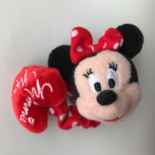 ディズニー(Disney)のミニーちゃんシュシュ(ヘアゴム/シュシュ)