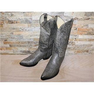 トニーラマ(Tony Lama)の最高級品 トニーラマ TonyLama シンプルウエスタン グレー 28,5cm(ブーツ)