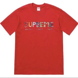 Supreme - Supreme Rocks Tee Red Large 赤 L