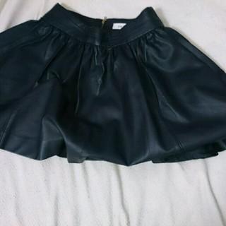 ダズリン(dazzlin)のMj様♥ダズリンのレザースカート(ミニスカート)