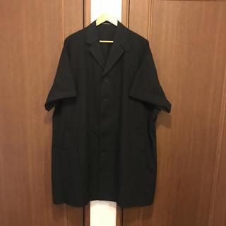 ヨウジヤマモト(Yohji Yamamoto)のYohji yamamoto 半袖コート(チェスターコート)