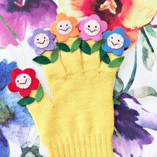 おはながわらった ♡ 手袋シアター 保育士(知育玩具)