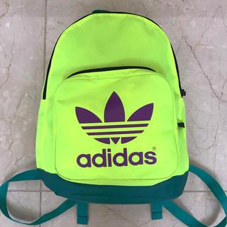 アディダス(adidas)の★adidas/アディダス ★バックパック ★蛍光色(バッグパック/リュック)