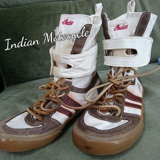 インディアン(Indian)のインディアンモトサイクル ハイカットキャンバススニーカー(スニーカー)