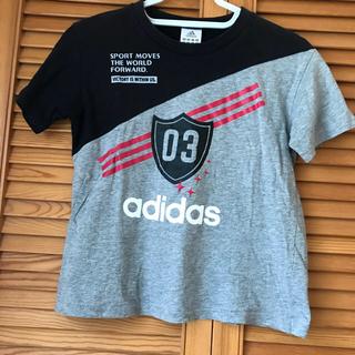 アディダス(adidas)のアディダスTシャツ 130センチ(Tシャツ/カットソー)