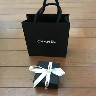 CHANEL - シャネル 空箱 リボン ブティック袋