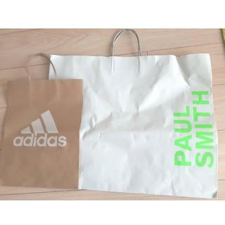 アディダス(adidas)のポール・スミス アディダス 紙袋(ショップ袋)