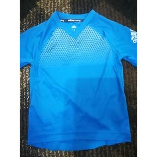 アディダス(adidas)のアディダス練習着 スポーツウェア サッカー 明るいブルー(Tシャツ/カットソー)