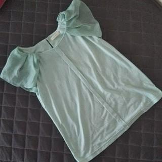 プーラフリーム(pour la frime)のプーラフリーム シフォン袖Tシャツ(Tシャツ(半袖/袖なし))