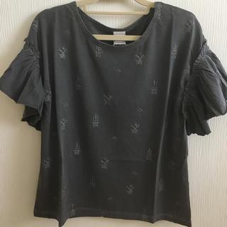 エーアイシー(A・I・C)の新品ギャザースリーブ Tシャツ A・I・C(Tシャツ(半袖/袖なし))