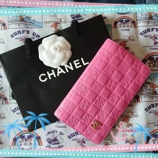 シャネル(CHANEL)のシャネル 長財布⭐正規品☆アイコン✨(財布)