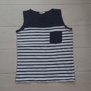 ジーユー(GU)のキッズタンクトップ(Tシャツ/カットソー)