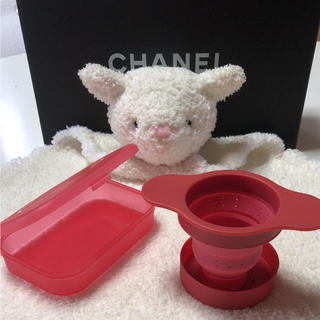イッタラ(iittala)のシリコン製 携帯茶こし(調理道具/製菓道具)