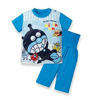 バンダイ(BANDAI)の新品◼バイキンマン 腹巻き パジャマ 半袖 80 アンパンマン(パジャマ)