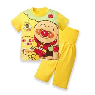 バンダイ(BANDAI)の新品◼アンパンマン 腹巻き パジャマ 半袖 80(パジャマ)