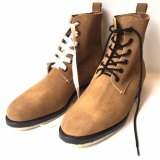 サンシー(SUNSEA)のsunsea 17aw suede desert boots(ブーツ)