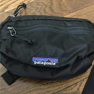 パタゴニア(patagonia)のパタゴニア ウエストポーチ Mini Hip Pack 1L BLACK(ボディバッグ/ウエストポーチ)