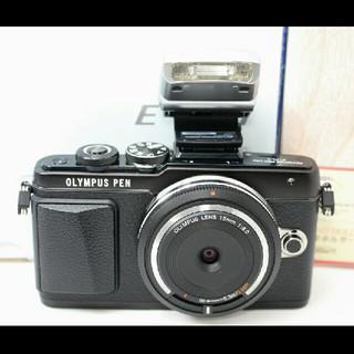 キヤノン(Canon)のかっこいいブラック♪オリンパス E-PL7 レンズセット 保証♪(ミラーレス一眼)