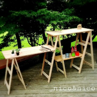 キャンプ アウトドア キッチンスタンド(テーブル/チェア)