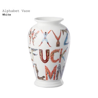 シュプリーム(Supreme)のSupreme Alphabet Vase シュプリームアルファベット花瓶(花瓶)