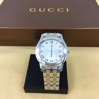 グッチ(Gucci)の鑑定済み正規品 グッチ 5500M 腕時計(腕時計(アナログ))