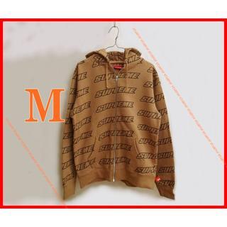 シュプリーム(Supreme)のSupreme Repeat Zip Up Hooded Sweatshirt(パーカー)