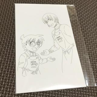 ショウガクカン(小学館)の名探偵コナン♡安室透♡ぬりえ♡ポストカード(カード)