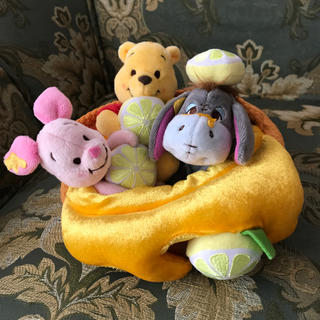 ディズニー(Disney)の新品☆Disney ディズニー クマのプーさん ぬいぐるみセット(ぬいぐるみ)
