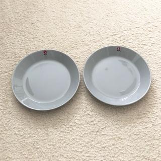 イッタラ(iittala)のイッタラ ティーマ プレート 17cm 2個セット パールグレー(食器)