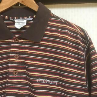 カーハート(carhartt)のカーハート   carhartt ポロシャツ ボーダー スケーター 野村周平(ポロシャツ)