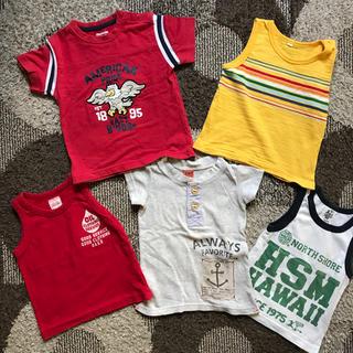 オシュコシュ(OshKosh)のブランド多数!男の子90センチ まとめ売り(Tシャツ/カットソー)