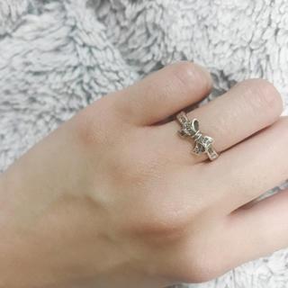 スタージュエリー(STAR JEWELRY)のstarjewelry  リボン リング(リング(指輪))