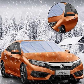 【雪や霜に効果抜群!】凍結防止カバー  車フロントガラスカバー (メンテナンス用品)