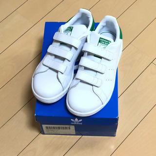 アディダス(adidas)のアディダス スタンスミス キッズ 19センチ(スニーカー)