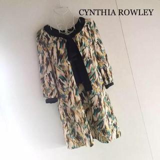 シンシアローリー(Cynthia Rowley)のCYNTHIA ROWLEY ワンピース(ミニワンピース)