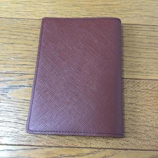 手帳カバー(茶色)(パスケース/IDカードホルダー)