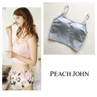 PEACH JOHN - 定価2678円⭐︎未使用♪ピーチジョン コットンブラトップ ルームウェア 楽ちん