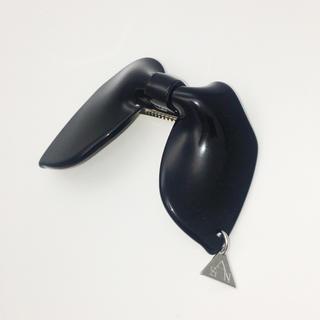 sAn×mari 限定コラボ リボンバレッタ ブラック(バレッタ/ヘアクリップ)