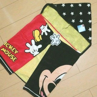 Disney - フード付きタオル ミッキー
