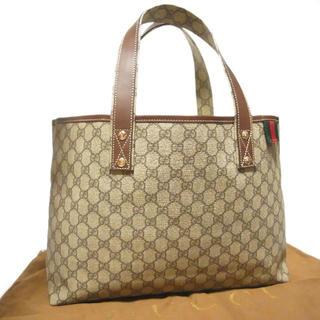 グッチ(Gucci)の正規 美品 グッチ 男女兼用 A4収納可 シェリー ショルダー トート バッグ(トートバッグ)