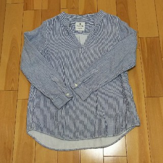 チャオパニックティピー(CIAOPANIC TYPY)のストライプシャツ(シャツ/ブラウス(長袖/七分))