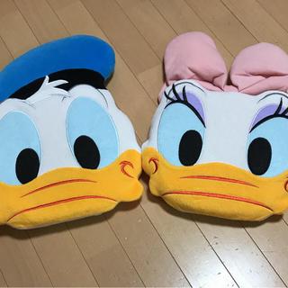 Disney - ドナルド デイジー クッション