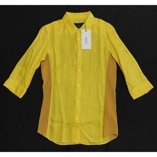 エイケイエム(AKM)の新品タグ付 35640円 AKM オックスフォードドレスシャツ wjk(シャツ)