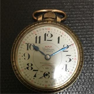 ウォルサム(Waltham)のウォルサム 懐中時計 中古値下げ(腕時計(アナログ))