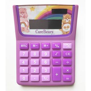 ケアベア(CareBears)の【美品】Care Bears ソーラー電卓(オフィス用品一般)